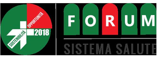 Forum della sostenibilità e opportunità nel settore della salute 2018 Logo