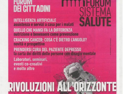 "Il quotidiano ""La Nazione"" è media partner di #FORUMSALUTE19"