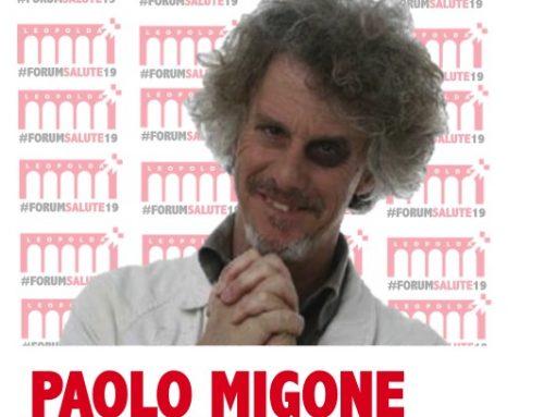 Paolo Migone al #FORUMSALUTE19
