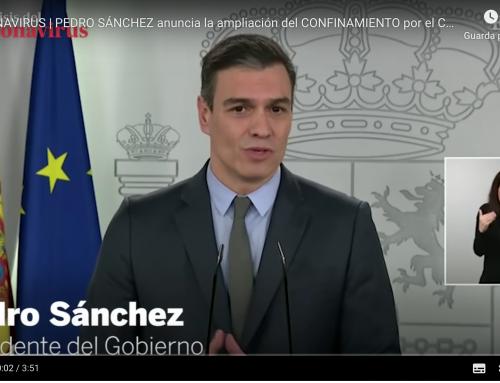 Spagna: da domani, 30 marzo saranno chiuse tutte le attività non essenziali