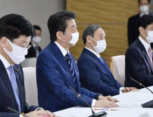 Il Giappone consegnerà due maschere a 50 milioni di famiglie per combattere i virus