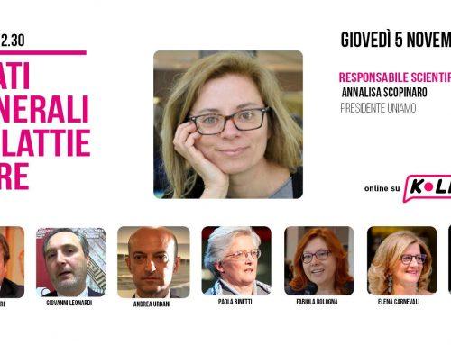 Stati generali delle malattie rare, 5 novembre su Klive.it – Grande partecipazione