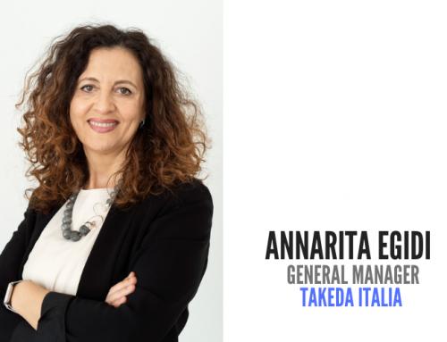 Takeda Italia: Annarita Egidi nuovo general manager