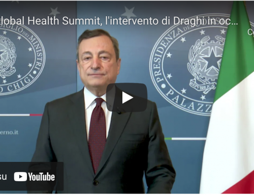 Draghi: 'Prepariamoci al futuro, rafforziamo l'approvvigionamento'