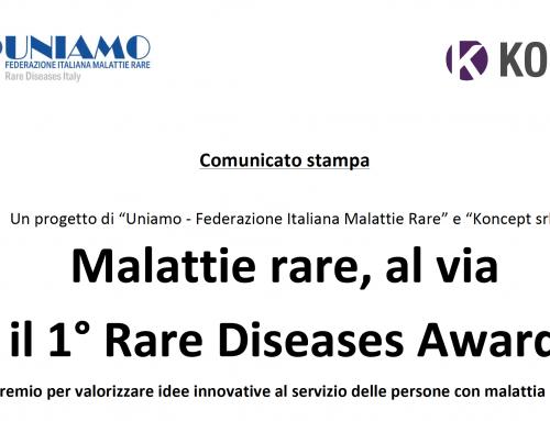 Comunicato Stampa 1° Rare Disease Award